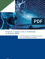 L'état de la science et de la technologie au Canada, 2012
