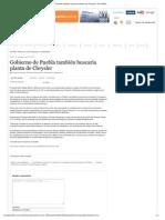 27-08-2012 Puebla online - Gobierno de Puebla también buscaría planta de Chrysler
