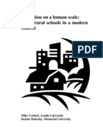 Mike Corbett and Dennis Mulcahy 2006_education on a Human Scale, Small Rural Schools in a Modern Context