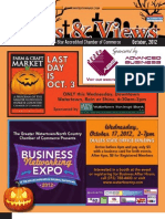 Watertown, NY Chamber of Commerce October News & Views Newsletter