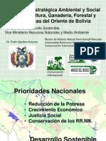 Evaluación Ambiental Estratégica del Oriente Boliviano