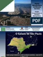 Região Metropolitana da Baixada Santista - Gestão Compartilhada do Território Metropolitano