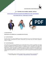 ADM 290 - Autocontrol y Control del Estrés Laboral Crítico