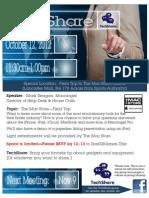TechShare Invite - October Gathering