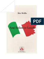 Rita Melillo, Semi Italiani in Canada, 2001, PPE, Pp