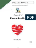 Claude Payan - Un Coeur Humble
