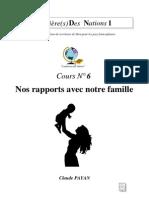 Claude Payan - Nos Rapports Avec Notre Famille