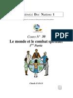 Claude Payan - Le Monde Et Le Combat Spirituel 1