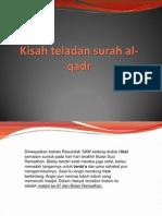 Kisah Teladan Surah Al-qadr