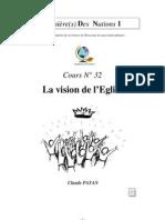 Claude Payan - La vision de l'Eglise