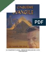 5eme Evangile Tome 1 - Psychologie - 33 Conferences