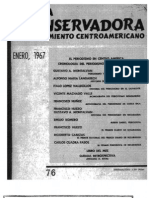 El Periodismo en Centroamerica RCPC No 76-1967