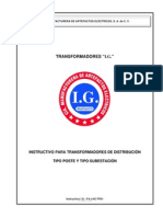 Instructivo p Trafos Poste y s.e. Hasta 500kva