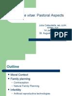 Pastoral Aspects of Hv Jan 2009