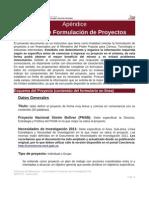 Manual Formulacion de Proyectos Del Ministerio de Ciencia Tecnologia e Innovacion
