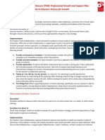 TEM Observation PGSP Educator Actions for Growth Guide