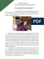 Reportase Tim KKN Desa Toso Minggu III