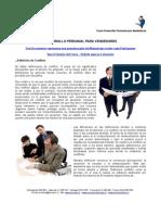 ADM 395 - Manejo de Conflictos y Estrés