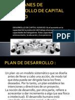 Planes de Desarrollo de Capital Humano-jluis