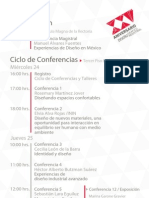 Programa General XXV Aniversario DGDI