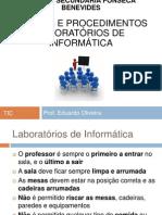 Normas e procedimentos laboratórios de informática