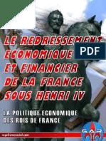 Le Redressement %C3%A9conomique Et Financier de La France Sous Henri IV