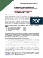 Procedimiento Seguro Contra Accidentes CPEL 2012-02