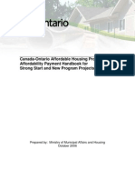 Canada-Ontario Affordable Housing Program