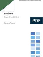 WEG Software Para La Programacion de Unidades Weg Superdrive g2 10001140896 9.40 Manual Espanol