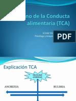 Trastorno de La Conducta Alimentaria (TCA)