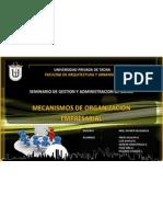 Mecanismos de Organizacion Empresarial