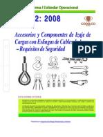 Neo02-Accesorios y Componentes de Izaje de Cargas Con Eslingas de Cable de Acero