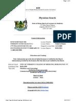 KYM BOYMAN, M.D.'S MAINE PHYSICIAN PROFILE 2012