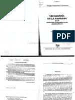 Ciudadania en La Empresa, Sergio Gamonal C.