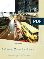 Save Dimmeys. Reformed Zones for Victoria