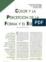 El color en la percepción del espacio