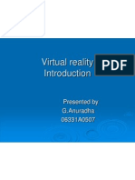 Virtual Reality Introduction