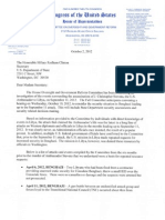 Denied Libya Security Requests Issa Chaffetz to Clinton