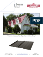 Best Buy Metals Standing Seam Installation Guide