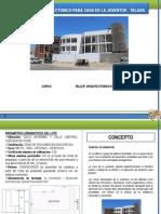 Programa Arquitectonico de Casa de La Juventud[1]