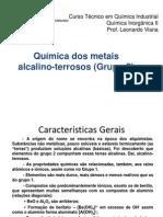 Grupo 2 QUIMICA DOS METAIS ALCALINOS TERROSOS