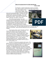 Radiation Water Monitor in Real-Time and Continuous at Jefferson NL 2006 - White Paper