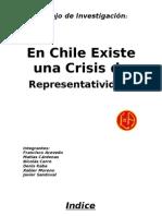 En Chile Hay Una Crisis de Representatividad