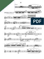 JEFF MANOOKIAN - Capriccios for Flutue Quartet - Flute One 4th Movement