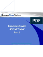 KnockOutJS with ASP.NET MVC