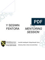 1 Mentoring Presentation With Activities