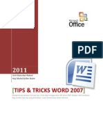 Tips and Tricks Word 2007docx