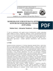 Modeliranje i strukturalna optimizacija konstrukcionih oblika cilindričnih zupčanika