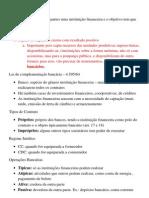 Direito Empresarial - Aula 3 Contratos Bancários