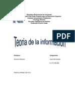 Teoria de La Informacion